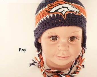 e347b7b3d Newborn broncos hat