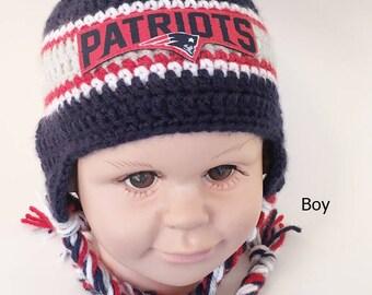 a5305d33a Patriots crochet hat