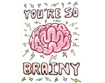 """Funny Graduation & Exam Results Congratulations Card 