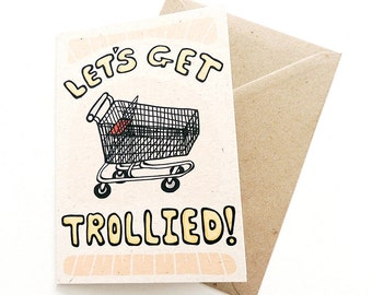 """Funny Happy Birthday Card for a Friend 