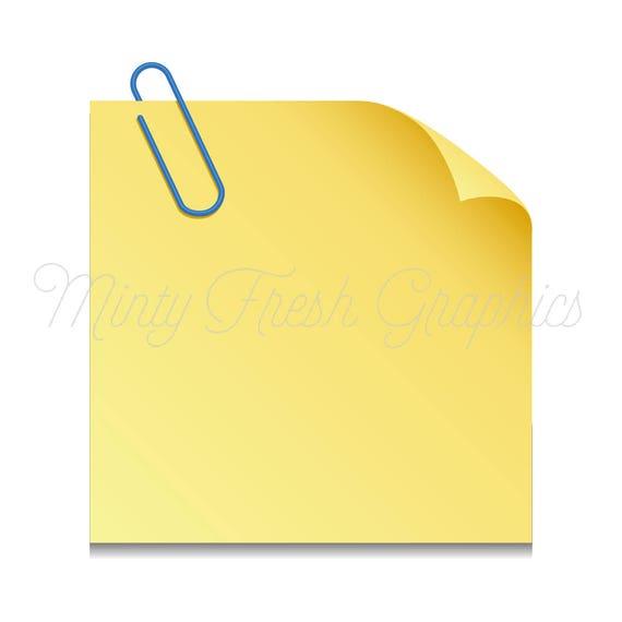 sticky note clipart planner clipart paper post it notes etsy rh etsy com post it clip art free clipart post it gratuit