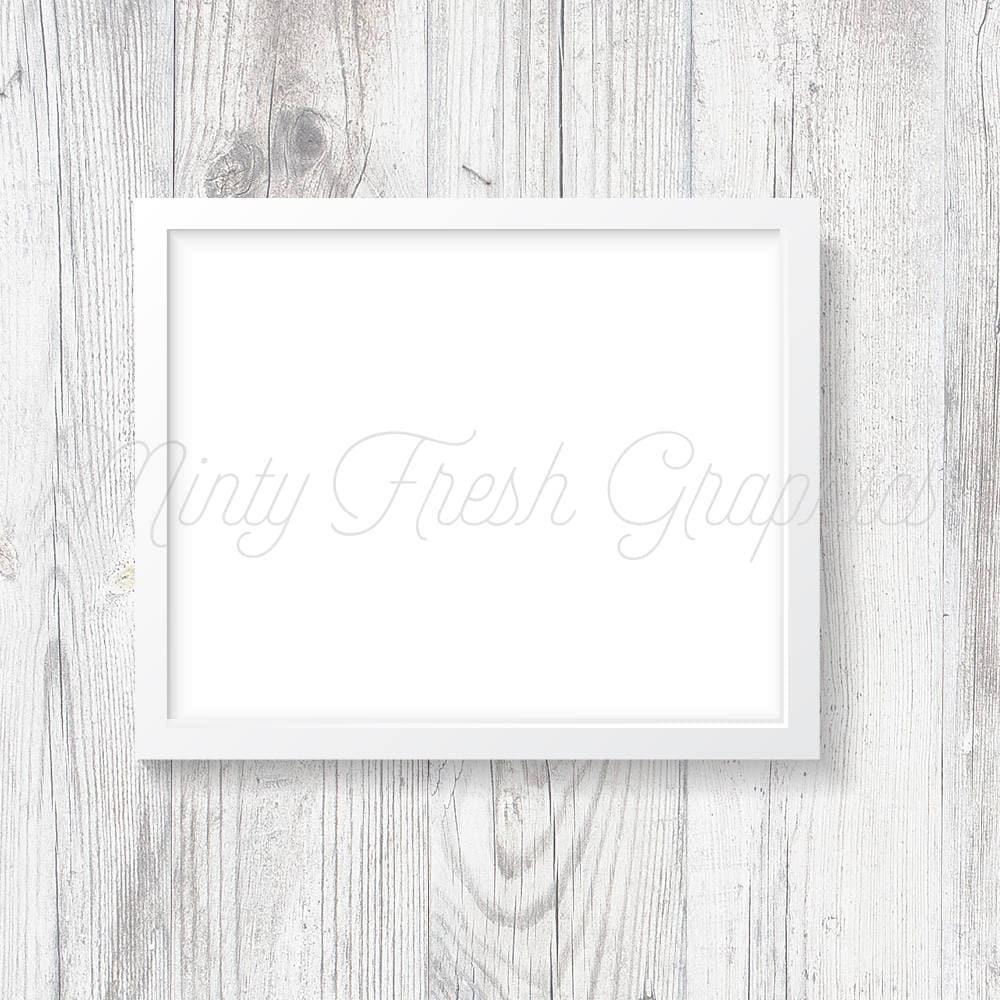 Marco maqueta - marco blanco - madera blanco de la pared - 16 x 20 ...