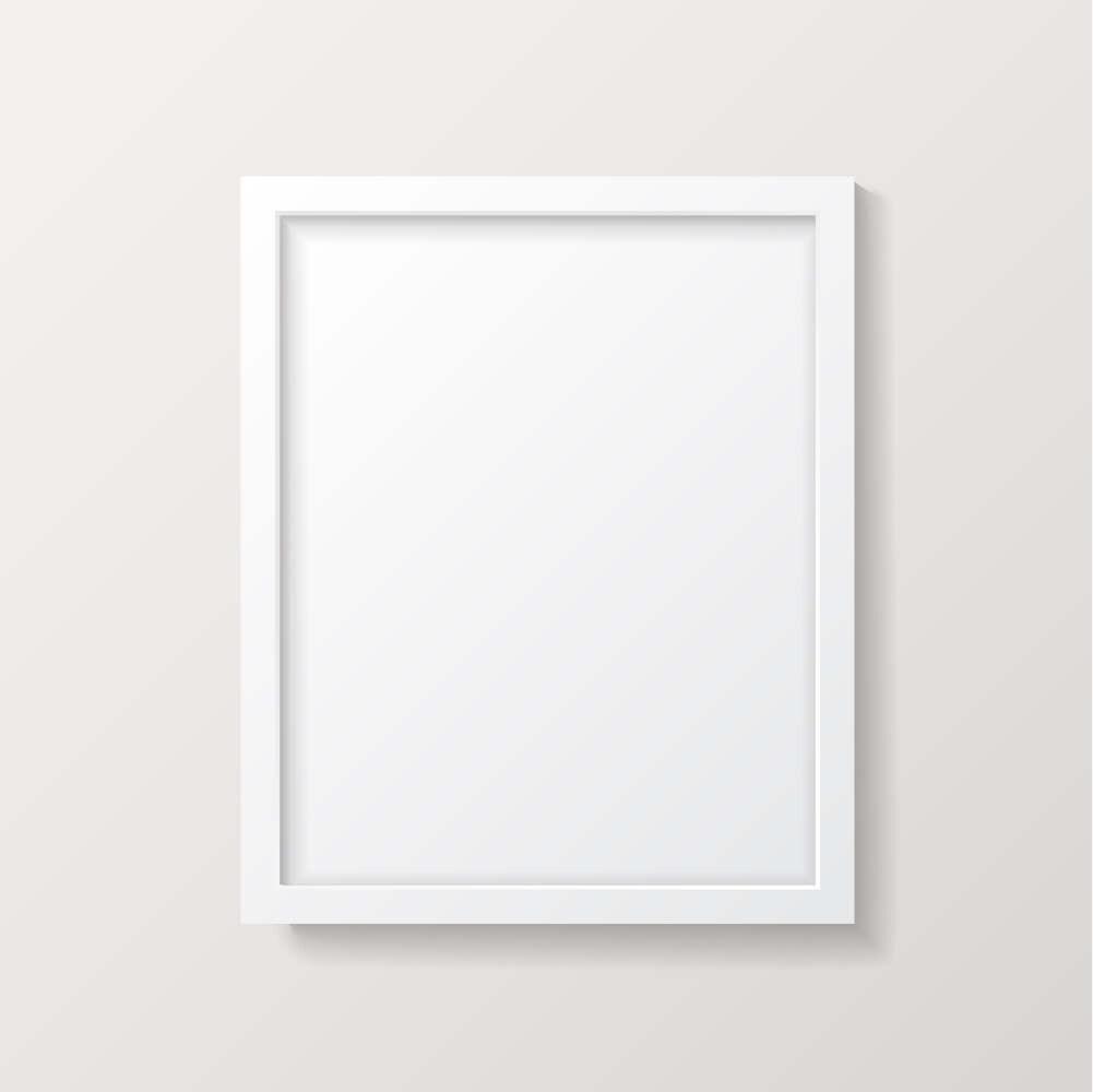 Großartig 24x36 Rahmen Weiß Galerie - Benutzerdefinierte ...