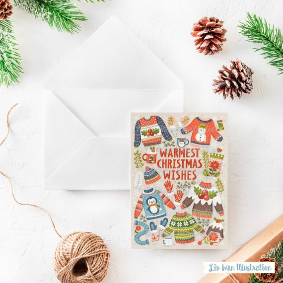 warmest christmas wishes christmas card christmas card fun etsy warmest christmas wishes christmas card christmas card fun christmas card cute christmas card