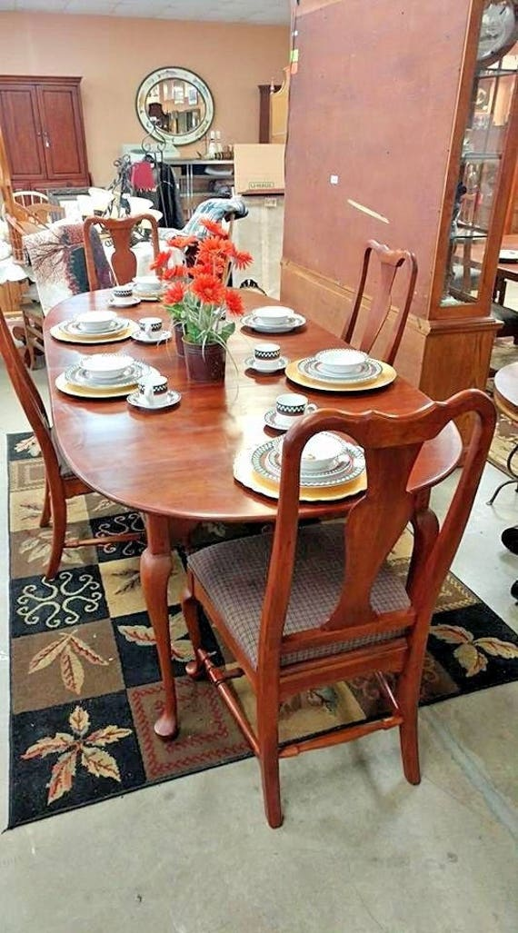 Bob Timberlake Lexington Furniture Oval Dining Table Only W 2