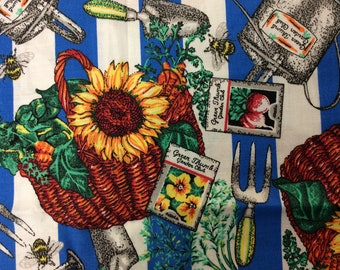 JOE BOXER/Cotton Fabric/Vintage/Sold By The Half Yard