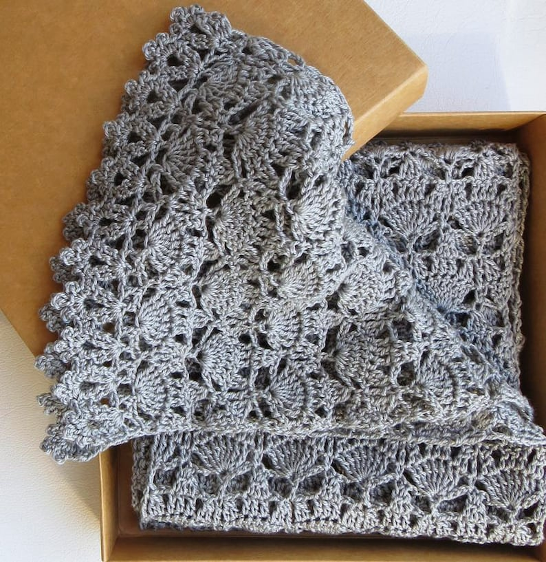 Crochet Scarf Pattern PDF Pattern Easy Crochet Pattern Beginner Crochet  Pattern Lace Crochet Scarf Lace Crochet Pattern Download Pattern