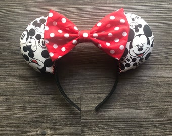 Faces of Mickey Ears, Mickey Mouse Ears, Disney Ears