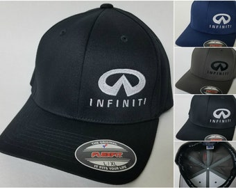 1ac22f51811 INFINITI Embroidered FLEXFIT Baseball Hat   Flexfit Sty 6277