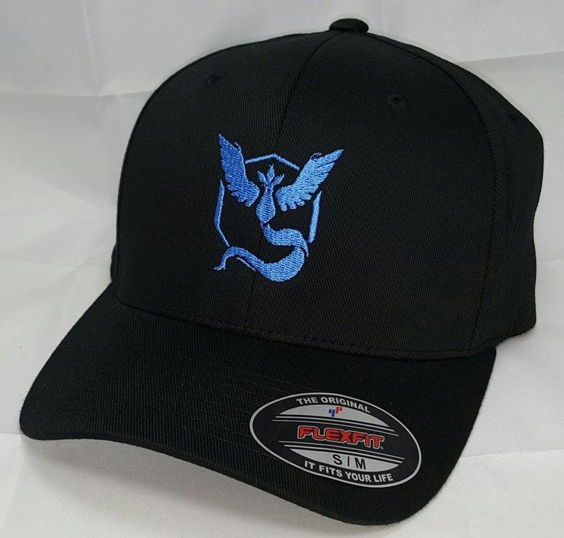 2bd3ec1b9fe Pokemon aller équipe casquette de Baseball FLEXFIT brodé