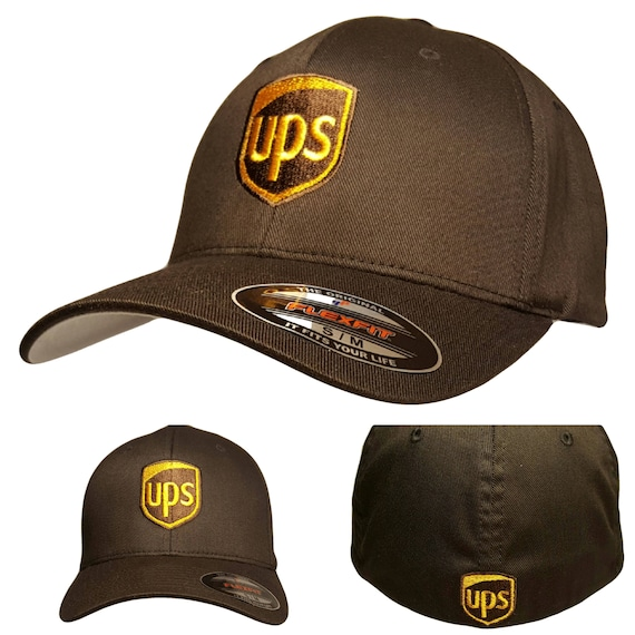 026c86f0b8e UPS Embroidered Flexfit Baseball Hat   Flexfit S M or L XL