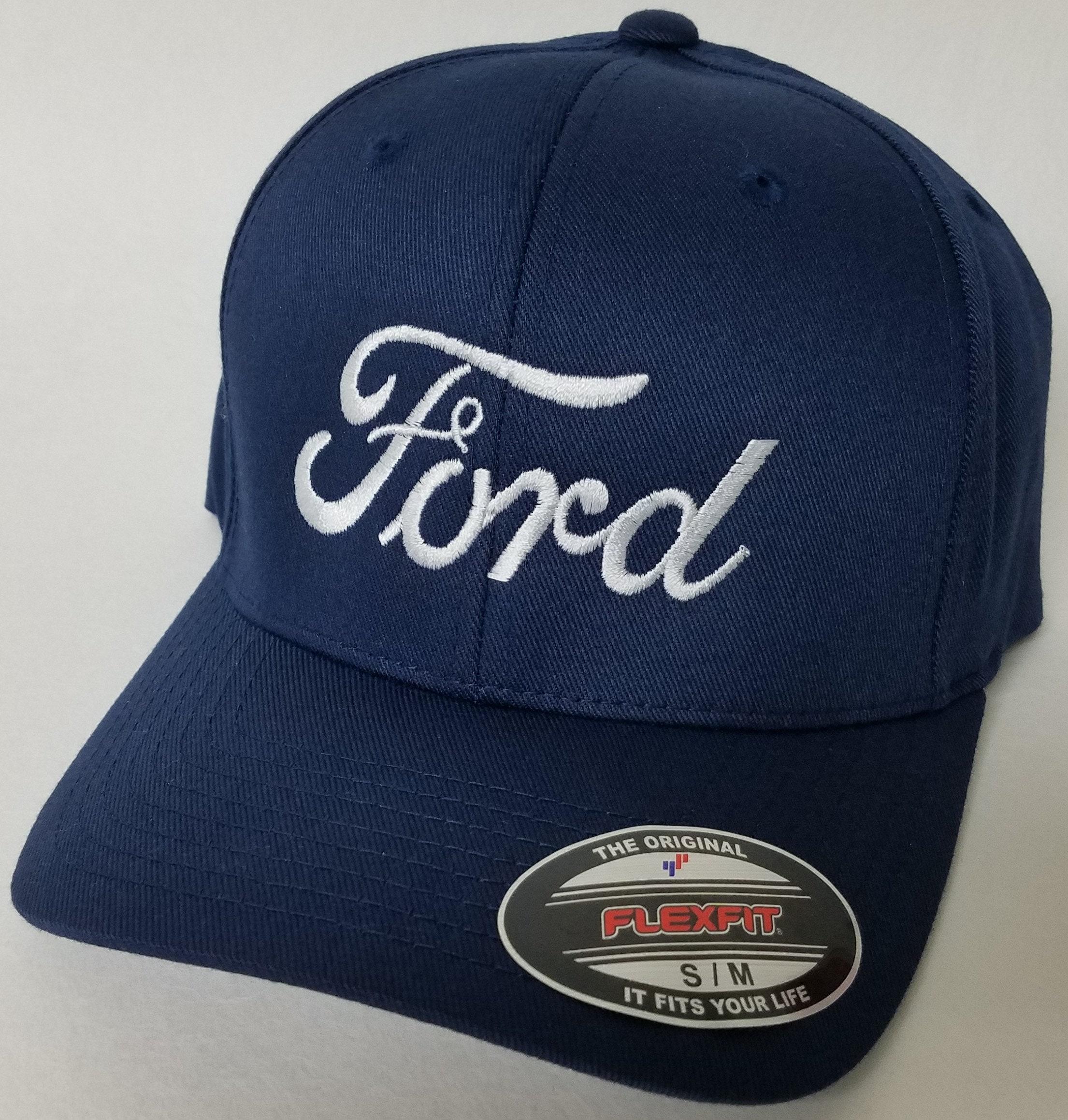 eb47634a8a3f4 FORD Embroidered FLEXFIT Baseball Hat   Flexfit Sty 6277
