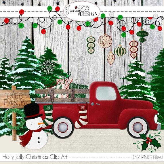 Holly Jolly Christmas Clip Art Christmas Clip Art ...