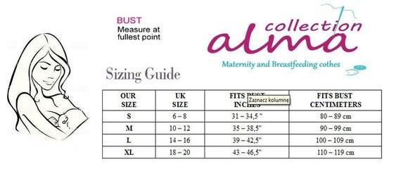 OANA 2in1 Maternity Nursing Top Pregnancy Breastfeeding All Sizes