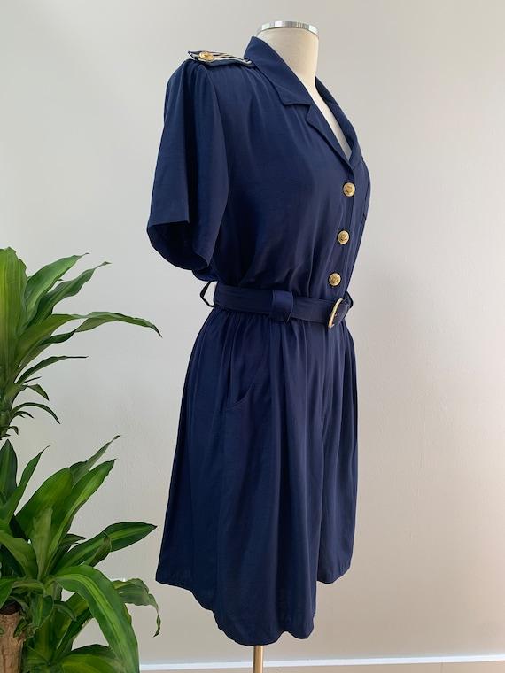 Vintage 80s does 1940s / 1930s Style Nautical Sai… - image 4