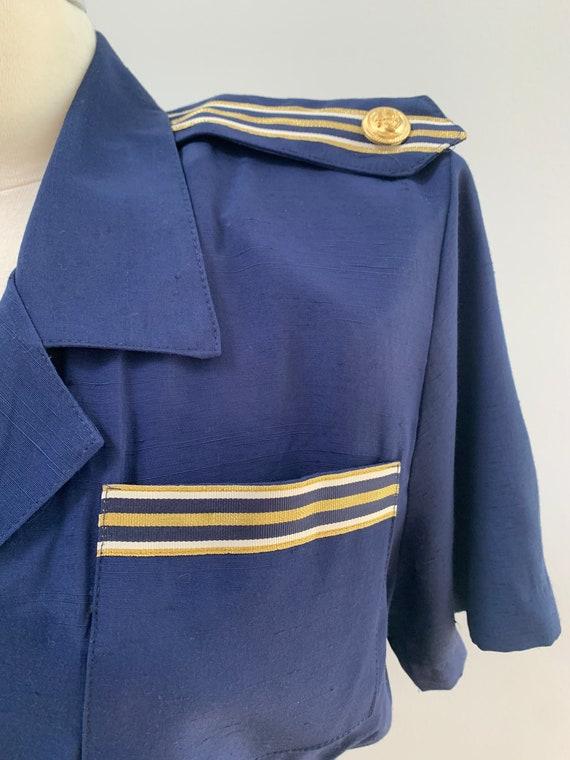 Vintage 80s does 1940s / 1930s Style Nautical Sai… - image 3