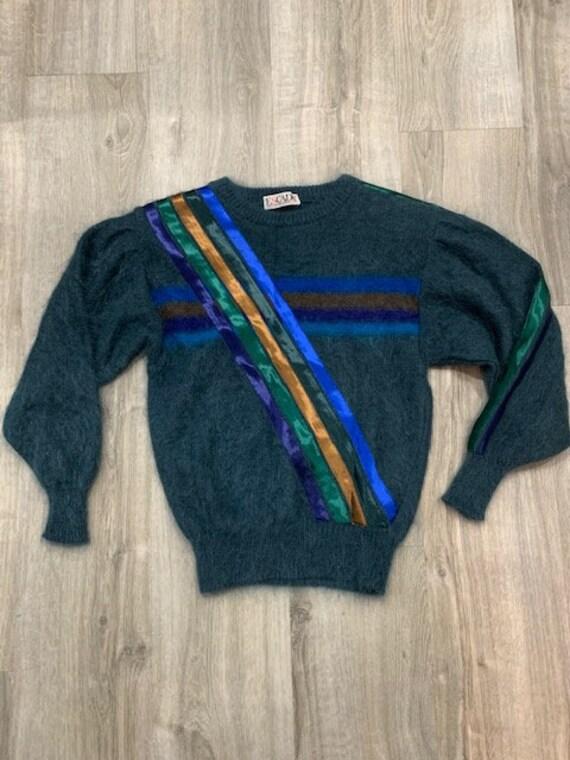 ESCADA Vintage 1980s Mohair Sweater XS / Vintage 1