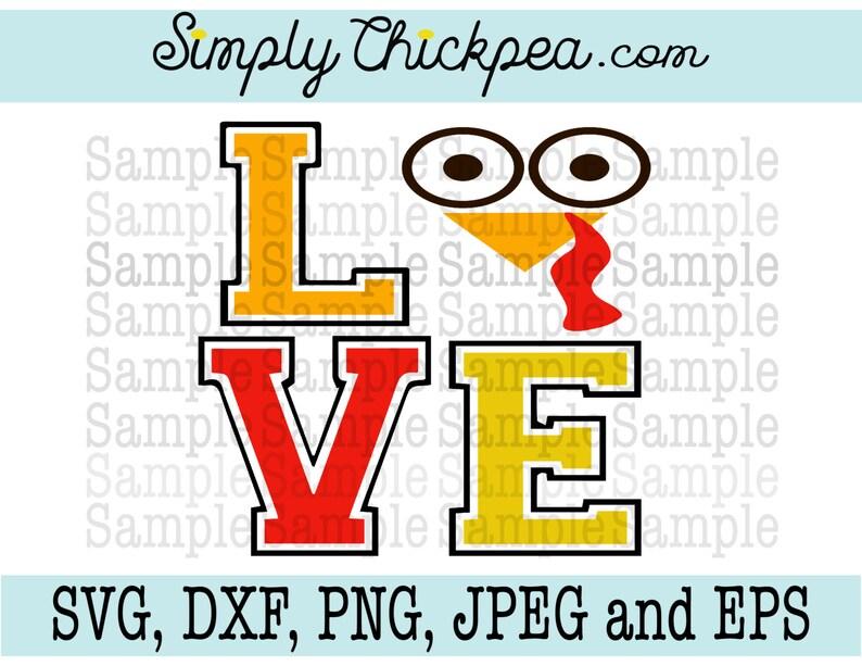Download Turkey Love SVG Thanksgiving svg turkey face svg | Etsy