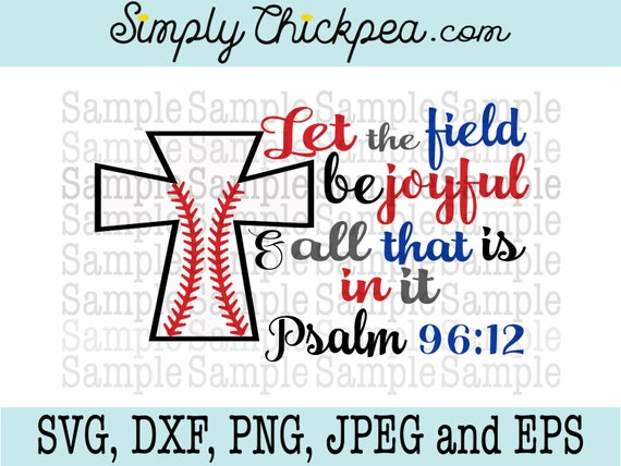 Svg Dxf Png Cutting File Jpeg And Eps Let The Field Be Etsy