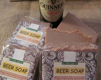 Beer Soap  Guinness Beer Soap  Soap for guys