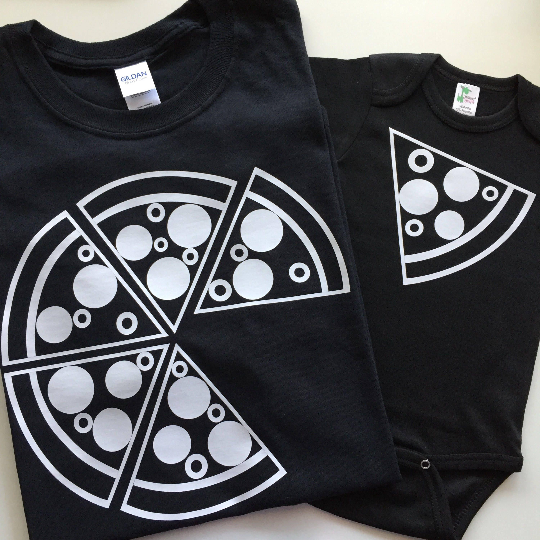 4c7fb4f4a FREE SHIP Pizza Shirts Matching Pizza Shirts Set Dad and Me   Etsy