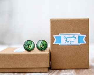Personalized incredible Hulk Fist Cufflinks Custom Superhero image gifts for men Wedding cuff link for dads