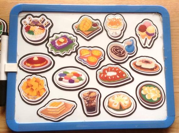 Kühlschrank Magnete : Essen magnete pinoy essen kühlschrank magnete filipino etsy