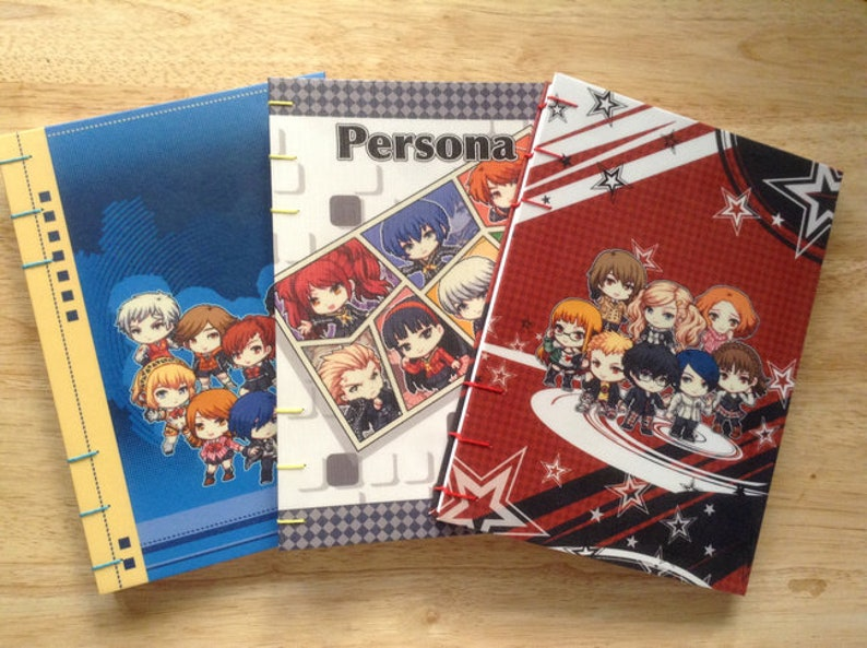persona journal persona notebook a6 journal anime notebook