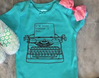 Misery - Number one fan - Stephen King - Book - Baby Bodysuit - Gift - Horror -