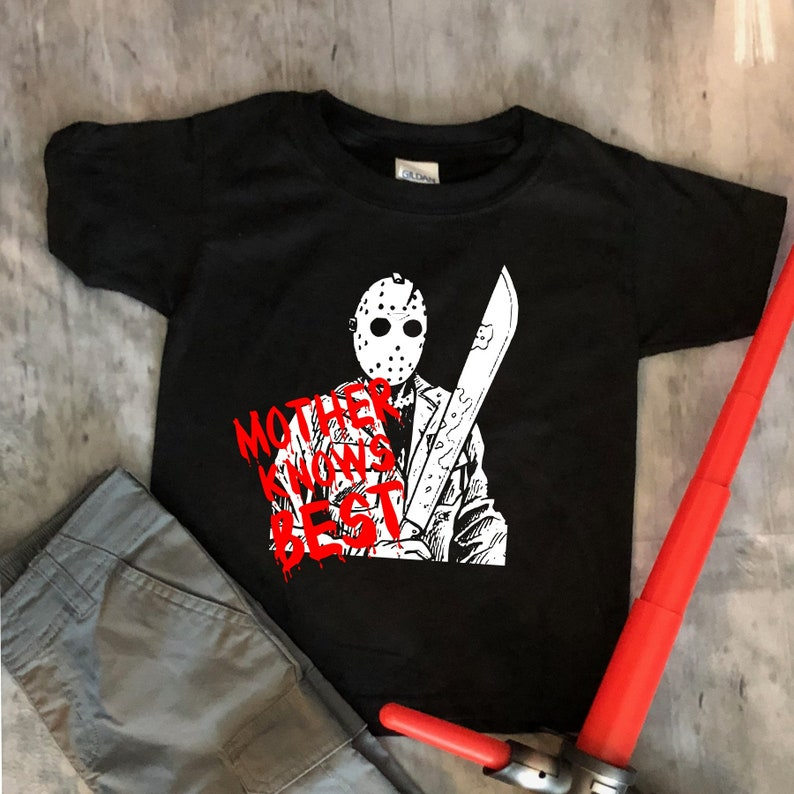 Jason  Mother Knows Best Horror  Toddler  Kids  Adult Tee image 0