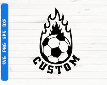 Soccer svg Football svg Soccer logo Football logo Customized logo design