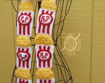 Crochet Popcorn Scarf [Ready to Ship]