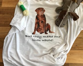 Gifts for mom/Labrador/Love our animals/Watercolor Labrador tee/Dog Lover shirt/animal tee/Dogs/Dog shirt/Labrador shirt/Pet shirt/