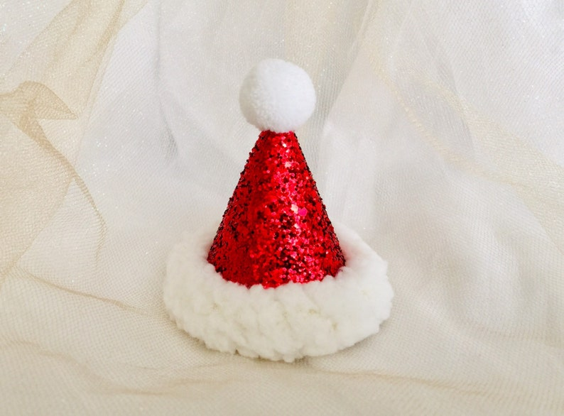 Christmas Santa hats Christmas party hats for pets dog Santa image 0