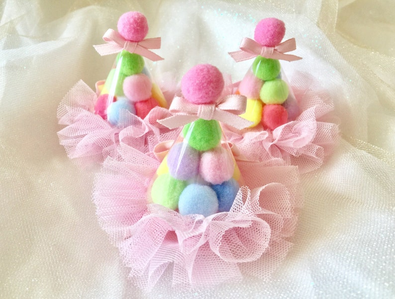 Birthday Hat Hair Clips Party Clip Baby Girls