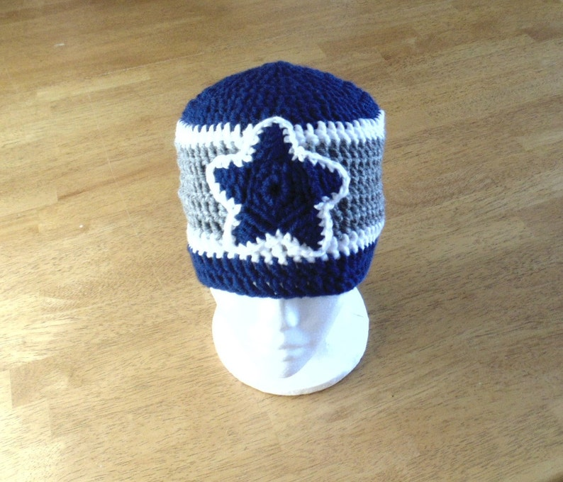 Dallas Cowboys Football Hat Dallas Cowboys Hat Cowboys Hat Etsy