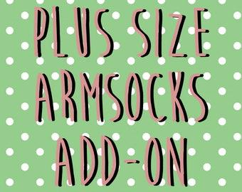 Plus Size Armsocks [Add On ]