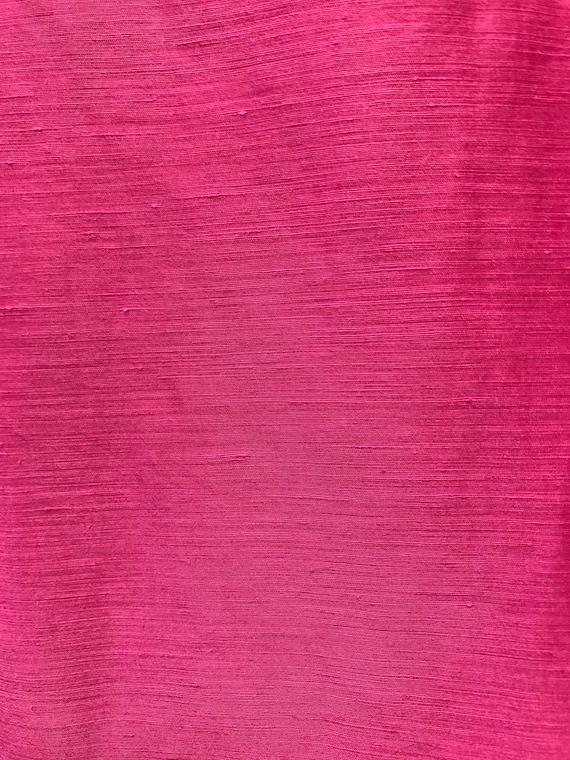 Vintage 90's pink skirt suit // silk & linen blen… - image 10