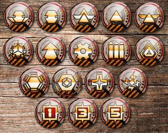 Red 5 Rebel V3 SW Legion Tokens