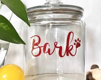 651035f3cb1d Personalized treat jar- Personalized pet jar - Custom pet jar- pet treat jar-  dog treat jar- Cat treat jar-