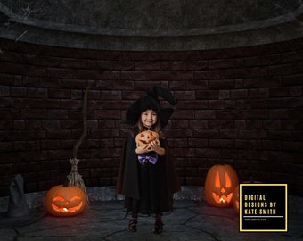 Witches Room Digital Backdrop / Background, High Resolution, Instant Download, Buy 3 get 1 free, CUOK.