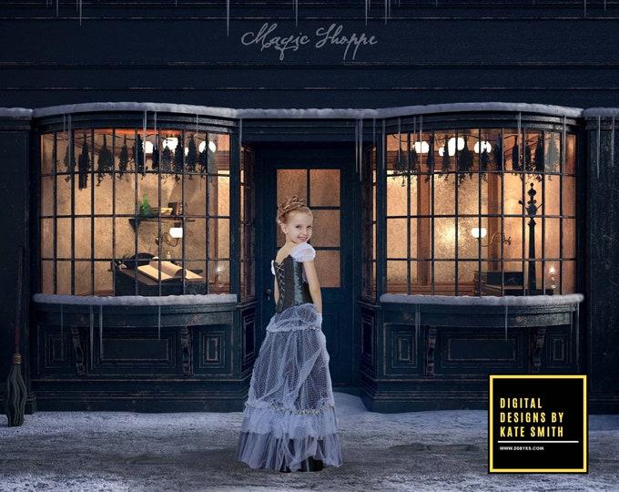 Magic Shoppe Digital Backdrop / Background, High Resolution, Instant Download, Buy 3 get 1 free, CUOK.