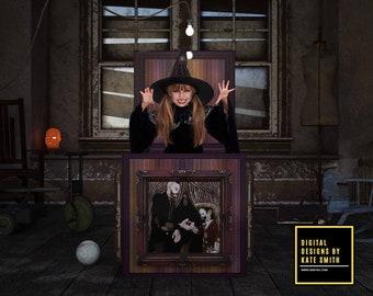 Creepy Attic Digital Backdrop / Background, High Resolution, Instant Download, Buy 3 get 1 free, CUOK.