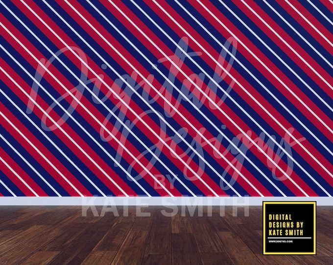 Patriotic Room 1 Backdrop / Background, Commercial Use for Pre made Backgrounds, High Resolution, Buy 3 get 1 free.