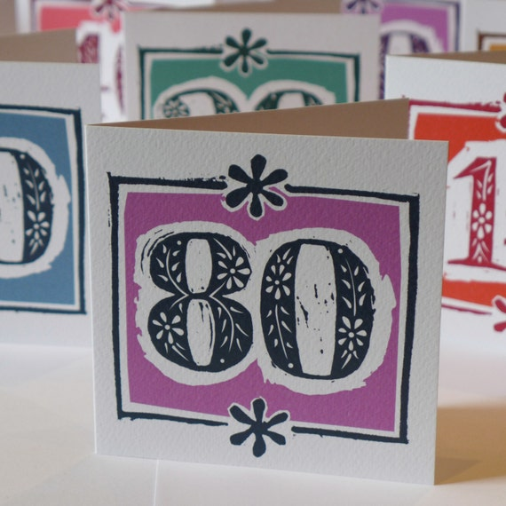 80th Wedding Anniversary Gift: 80th Birthday Card Or Diamond/Pearl Wedding Anniversary