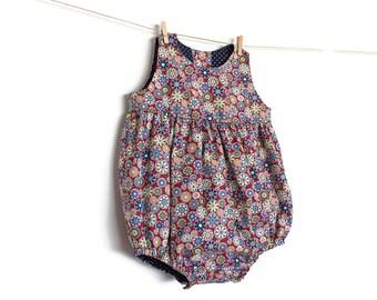 Baby Romper Pattern PDF Sewing Pattern – Instant download — Peter Pan Collar