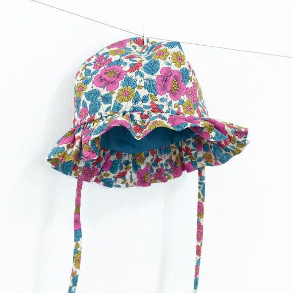 Baby Sun Hat Pattern PDF Sewing Pattern – Instant download d0b1c4aa210