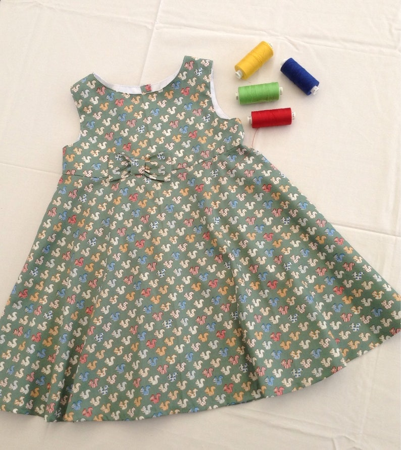 3e63530d8 Clothing Girls Clothing Dresses Handmade Cotton   Etsy