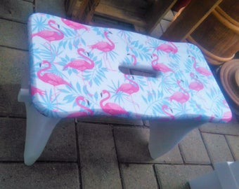 Kick stool stool Falmingo shabby stool