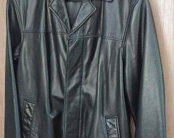 a8f71d1a75 Banana Republic leather Car coat
